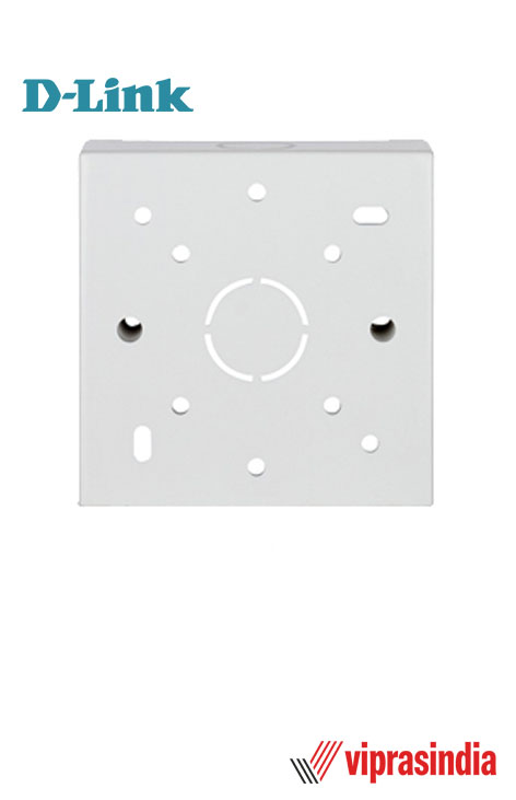 Back Boxes Dlink 86 x 86 x 32mm  for Single  White