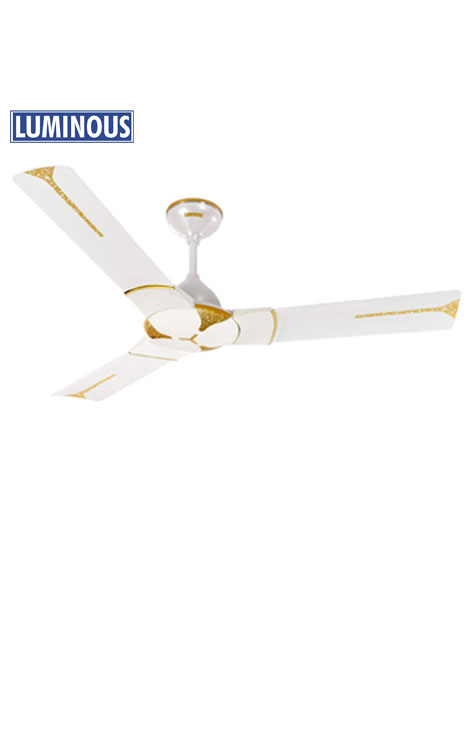Ceiling Fan Luminous Jaipur Ghoomar 1200MM (Makrana White)