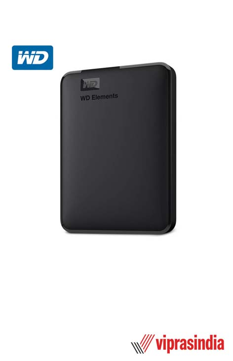 Hard Disk WD Elements 1 TB External (Black)